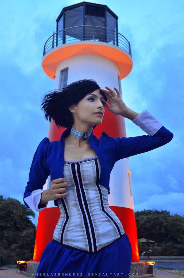 [Cosplay&More] – BioShock Infinite, Elizabeth by the gorgeous Angela Bermudez
