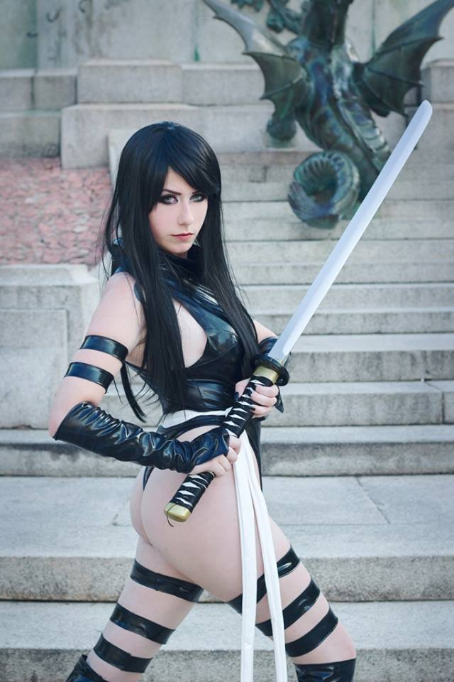 [Cosplay&More] – X-Men, Psylocke by the gorgeous Giu Hellsing