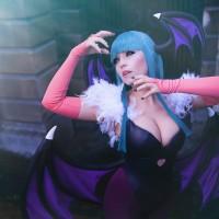 [Cosplay&More] - DarkStalkers, Morrigan by Ju TSukino