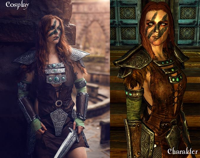 Aela the huntress by Monono cosplay