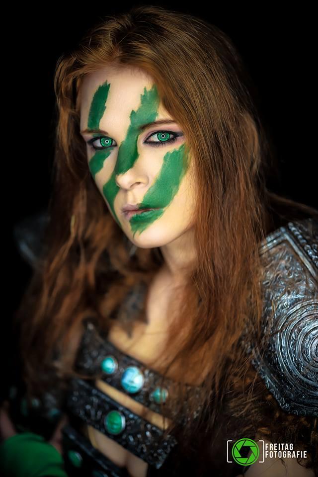 Aela the huntress from TES:V Skyrim