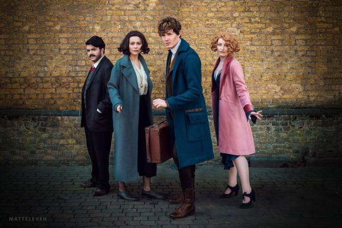 [Cosplay&More] – Fantastic Beasts and Where to Find Them @jk_rowling