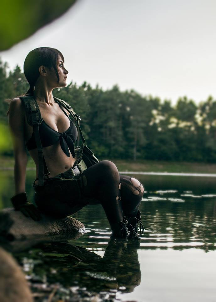 Quiet from Metal Gear Solid by Gaia Sanetti