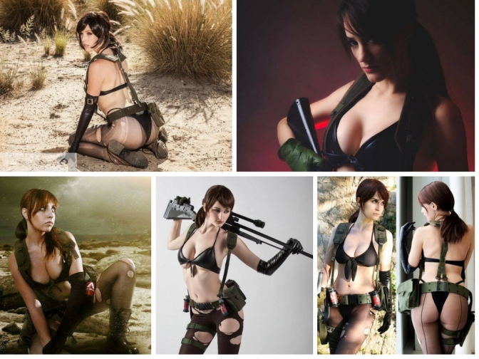 [Cosplay&More] –  The most incredible Quiet cosplay ever from Metal Gear Solid !