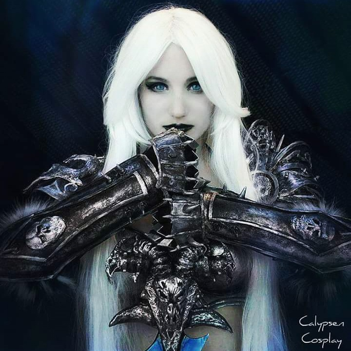Lady Arthas cosplay