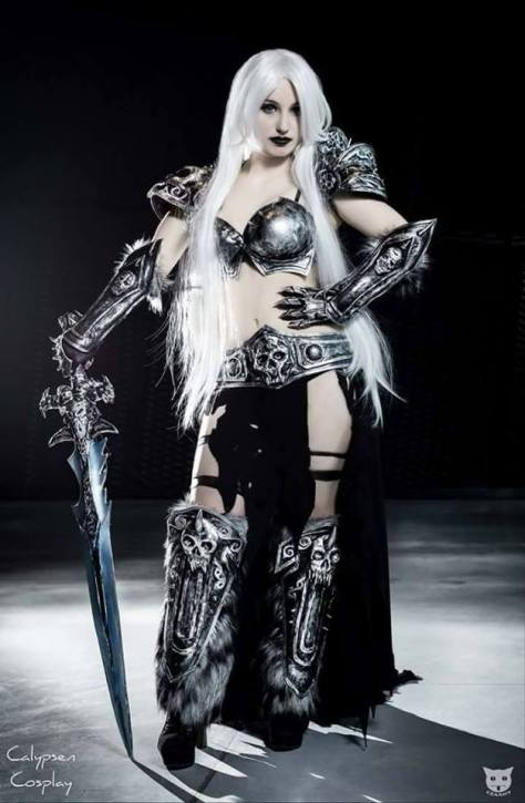 Lady Arthas cosplay