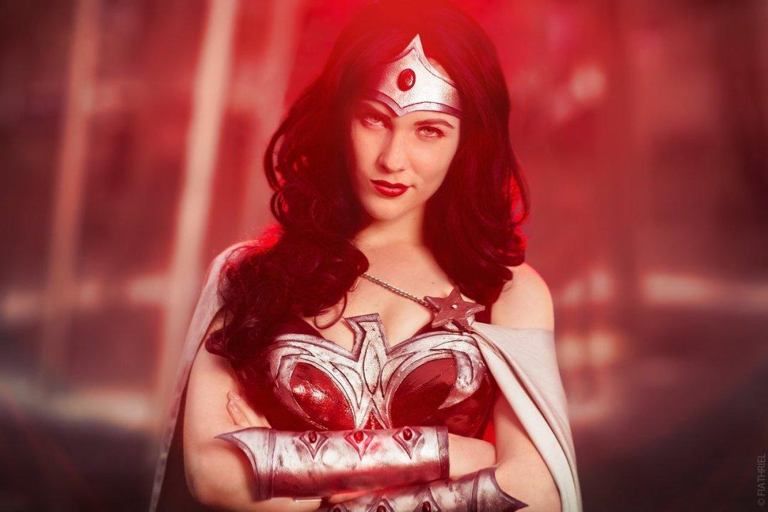 #WonderWoman cosplay by Eve Beauregard