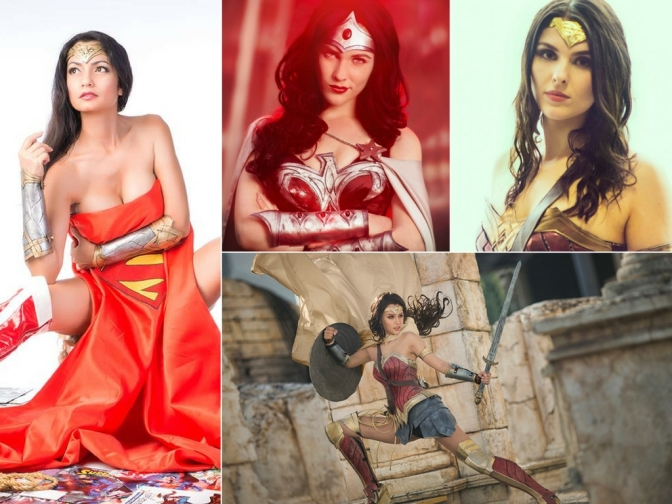 [Cosplay&More] – The most incredible Wonder Woman !