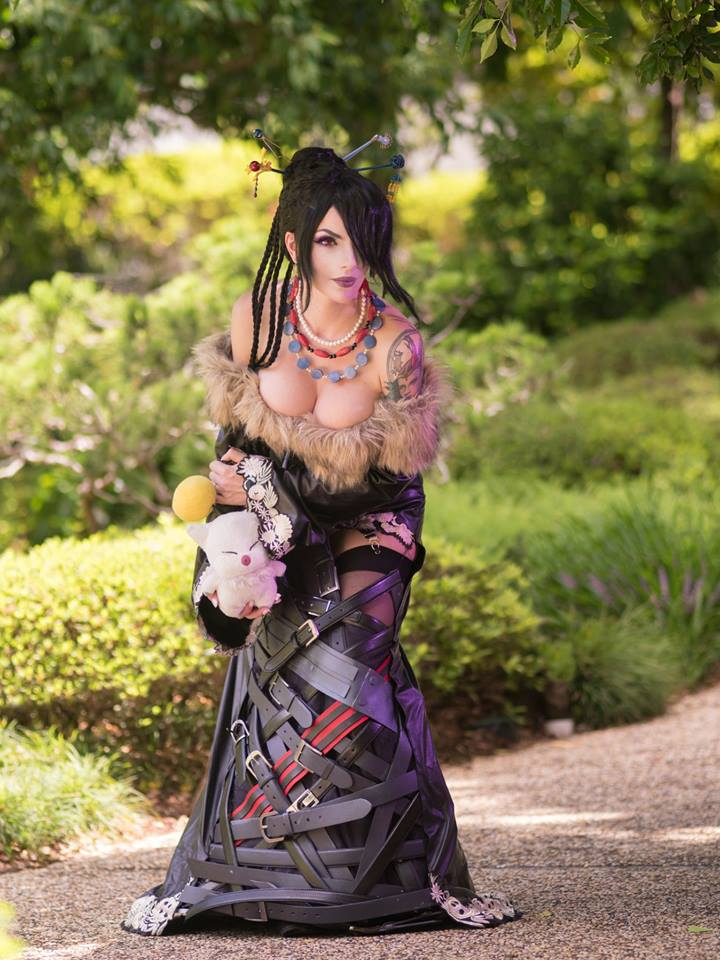 [Cosplay&More] – Final Fantasy X, Lulu, by the gorgeous Katyuska MoonFox