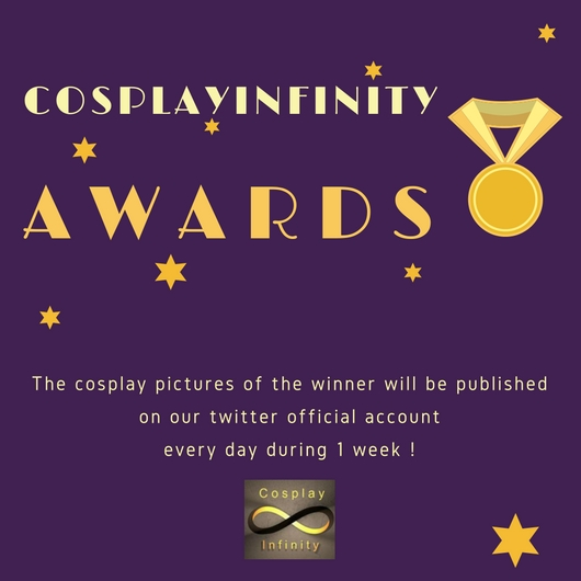 * The CosplayInfinity Award 2017 *