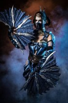 Kitana - Mortal Kombat X by xXAnemonaXx - Photo by Andrey Spiridonov