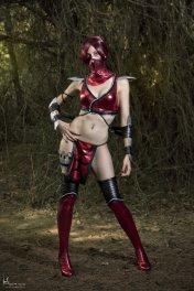 Skarlet - Mortal Kombat 9 by Nebulaluden - Photo by Hidrico