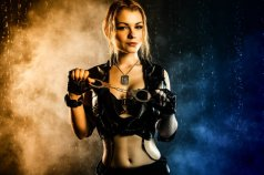 Sonya Blade Cosplay by CaptainIrachka - Photo by Dmitriy Shitikov