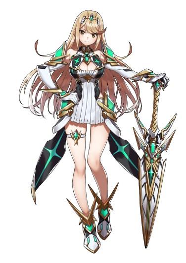 Xenoblade Chronicles 2 - Mythra