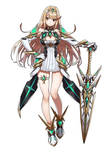 Xenoblade Chronicles 2 - Mythra