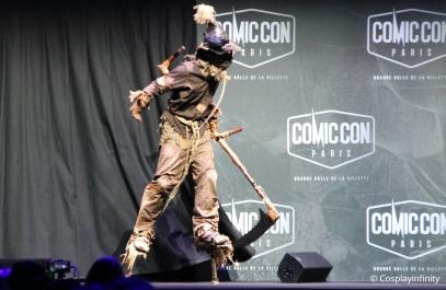 Participant 2 :Scarecrow, Batman.