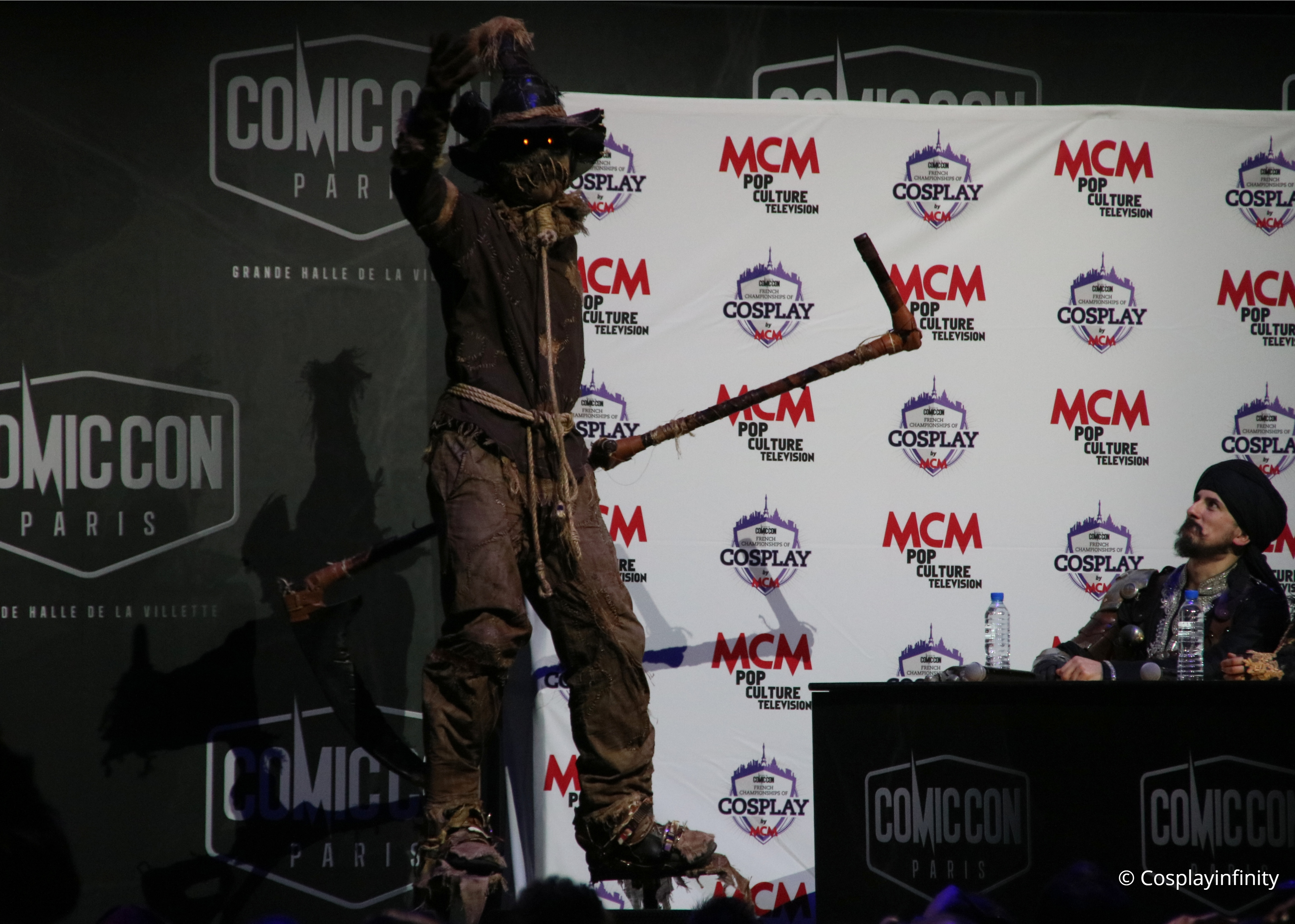 Video : Scarecrow from Batman – French Championships of Cosplay by MCM – COMIC CON PARIS 2018