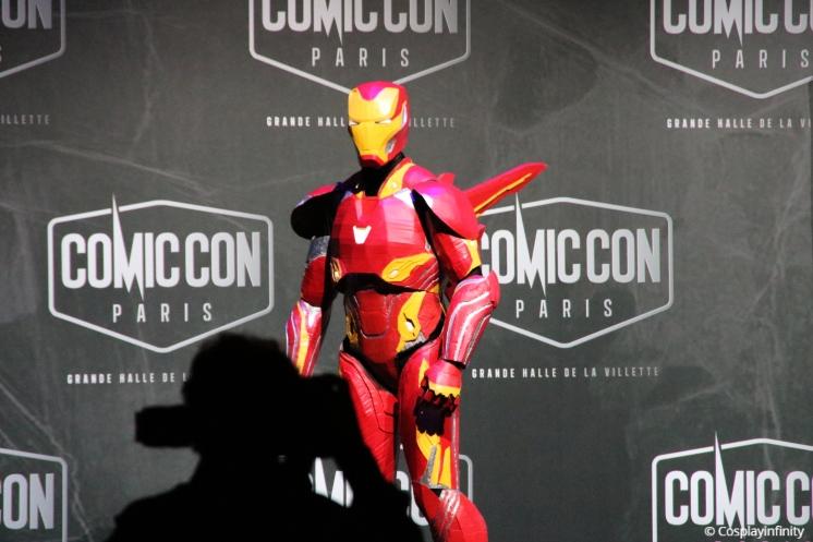 Participant 3, Iron man.