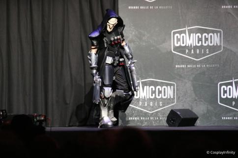 Participants 8 : Reaper, Overwatch.