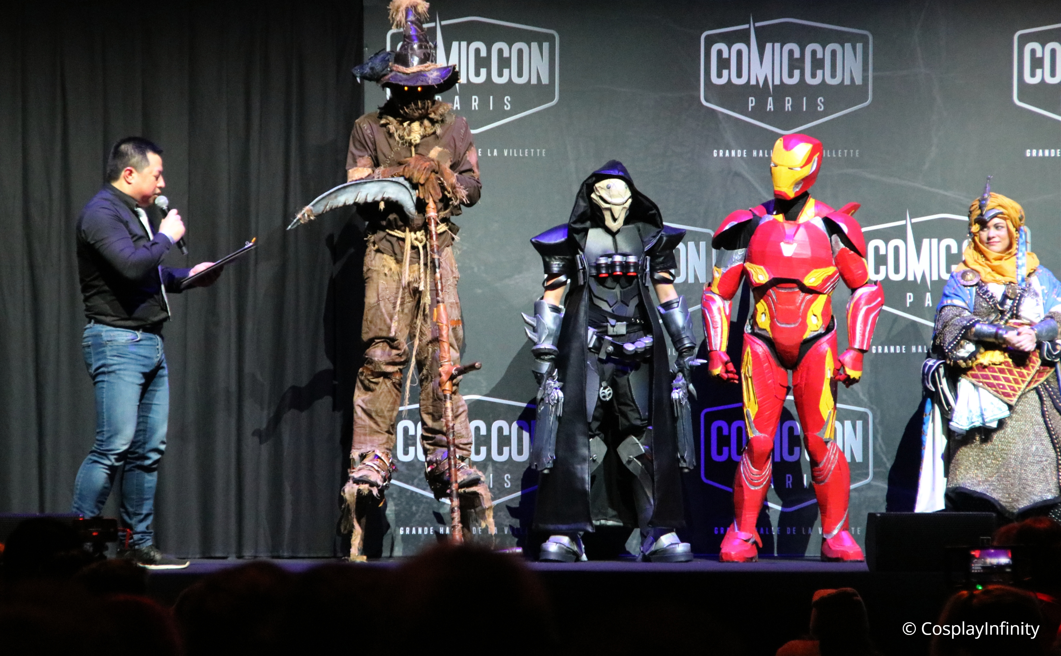 Video : French Championships of Cosplay by MCM – COMIC CON PARIS 2018