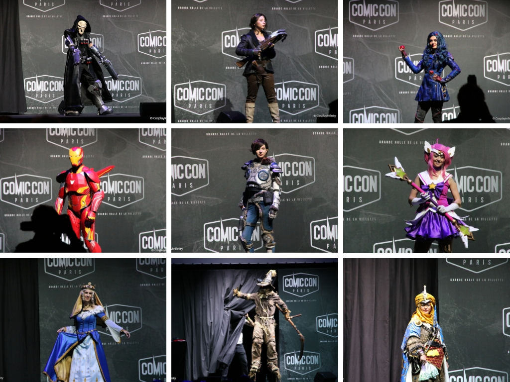 [Comic con Paris 2018] – French Championships of Cosplay, All pictures !