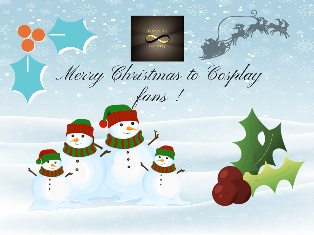 Merry Christmas to Cosplay fans !