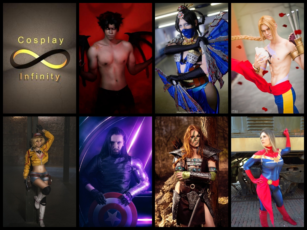 * CosplayInfinityAward 2018 *  – The nominees –